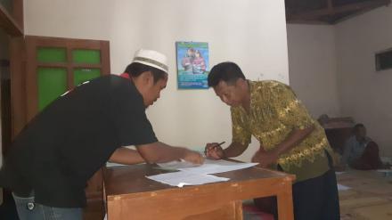 Sertipikat Tanah Dibagikan Kepada Masyarakat Wanujoyo Kidul