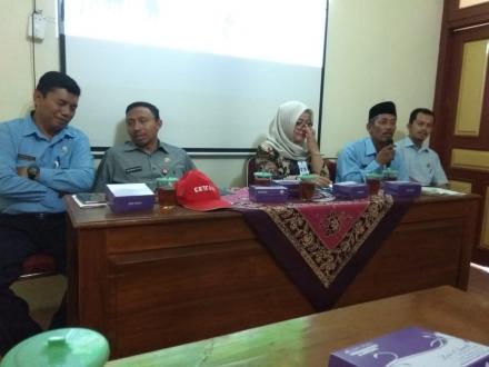 Srimartani Dikunjungi Dinas PMD Propinsi Jatim